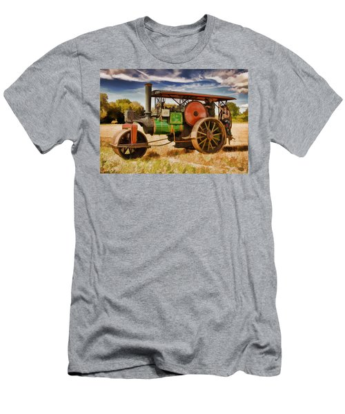 Aveling Porter Road Roller Men's T-Shirt (Athletic Fit)