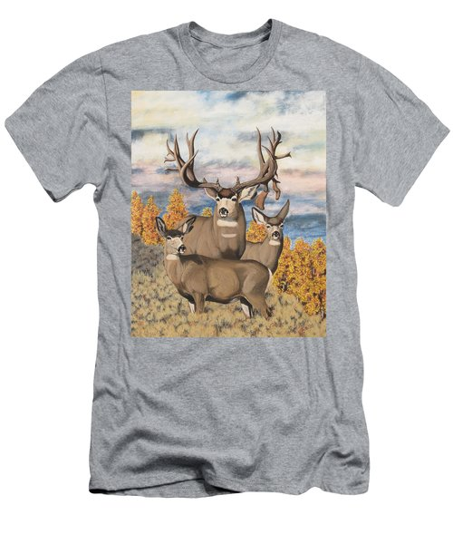 Avery Buck Men's T-Shirt (Athletic Fit)