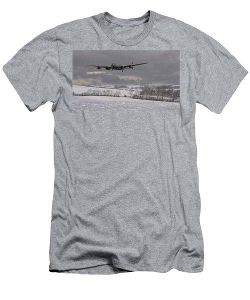 Avro Lancaster - Limping Home Men's T-Shirt (Athletic Fit)