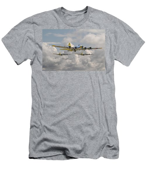 B17 486th Bomb Group Men's T-Shirt (Athletic Fit)