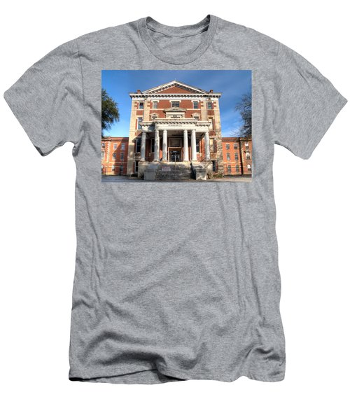 Babcock Building-2 Men's T-Shirt (Athletic Fit)