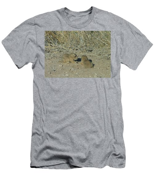 Baby Prairie Dog Men's T-Shirt (Athletic Fit)