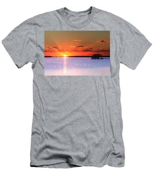Back Bay Sunrise Men's T-Shirt (Athletic Fit)