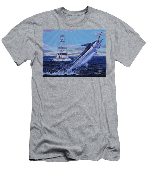 Back Her Down Off00126 Men's T-Shirt (Athletic Fit)