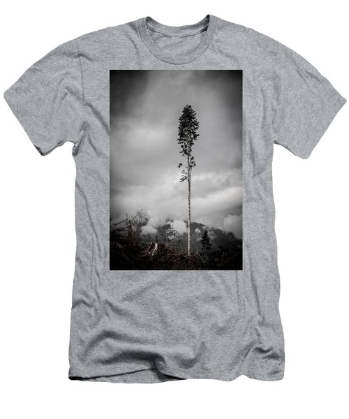 Lone Tree Landscape  Men's T-Shirt (Athletic Fit)