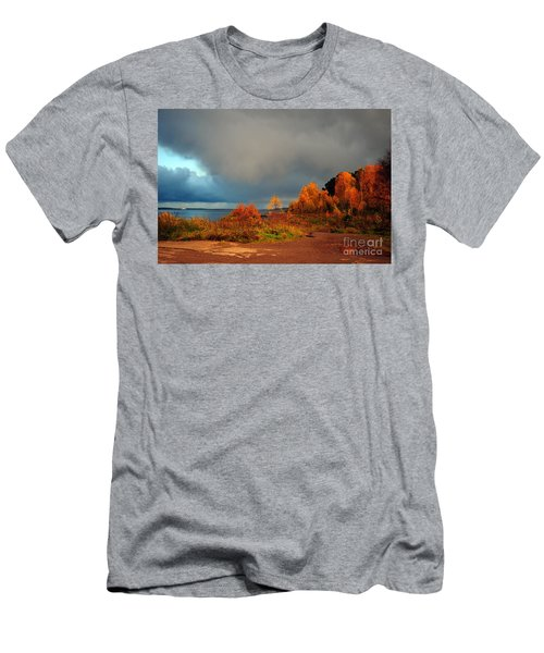 Bad Weather Coming Men's T-Shirt (Slim Fit) by Randi Grace Nilsberg