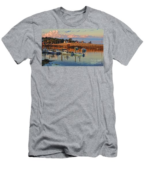Bailey Island Bridge At Sunset Men's T-Shirt (Athletic Fit)