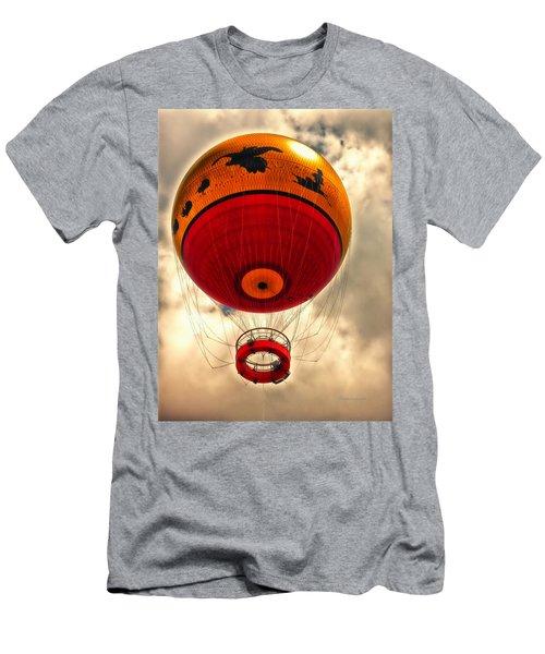 Balloon Ride Walt Disney World Fl Men's T-Shirt (Athletic Fit)