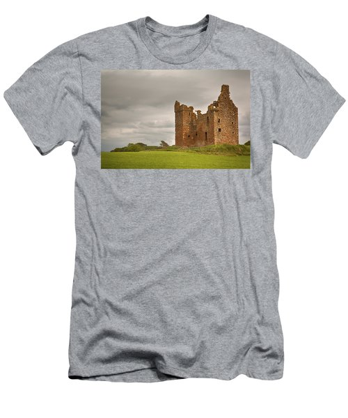 Baltersan Tower Men's T-Shirt (Slim Fit) by Eunice Gibb