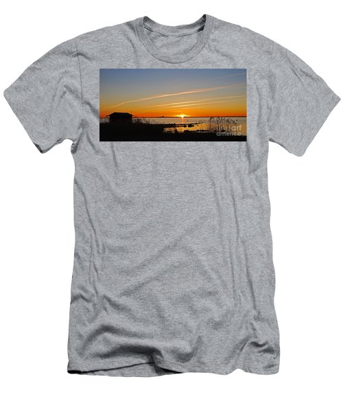 Baltic Sea Sunset Men's T-Shirt (Athletic Fit)