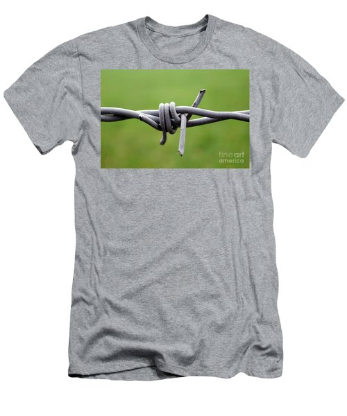 Barbed Men's T-Shirt (Athletic Fit)