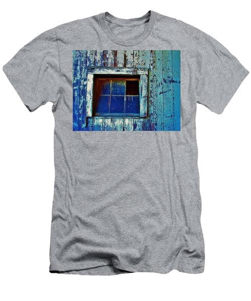 Barn Window 1 Men's T-Shirt (Slim Fit) by Daniel Thompson