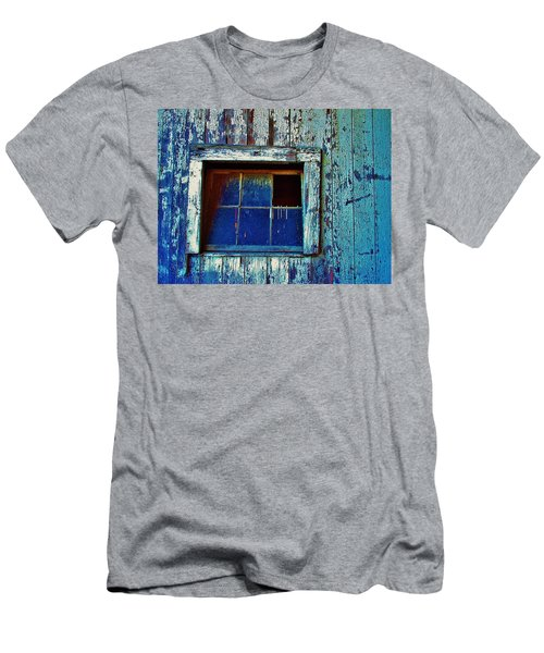 Barn Window 1 Men's T-Shirt (Athletic Fit)