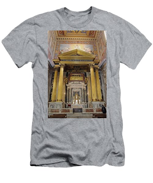 Basilica Of St John Lateran  Men's T-Shirt (Athletic Fit)