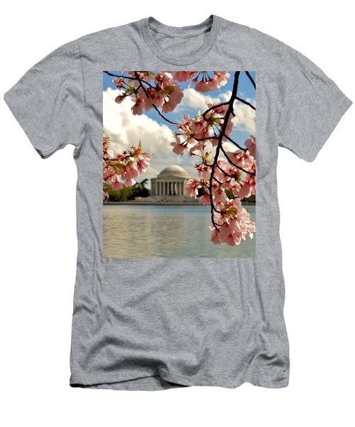 Basin Blossoms Men's T-Shirt (Athletic Fit)