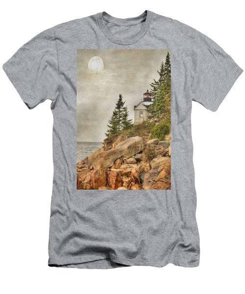 Bass Harbor Head Lighthouse. Acadia National Park Men's T-Shirt (Athletic Fit)
