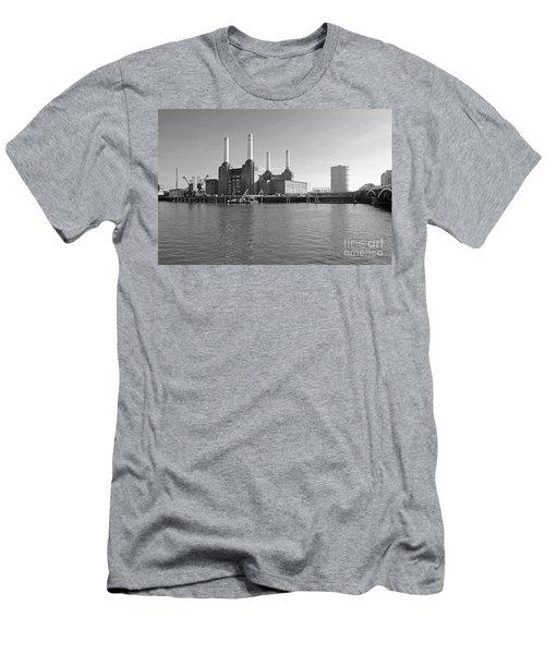 Battersea Power Station Men's T-Shirt (Athletic Fit)