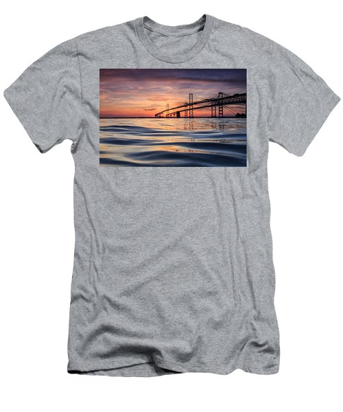 Bay Bridge Silk Men's T-Shirt (Athletic Fit)
