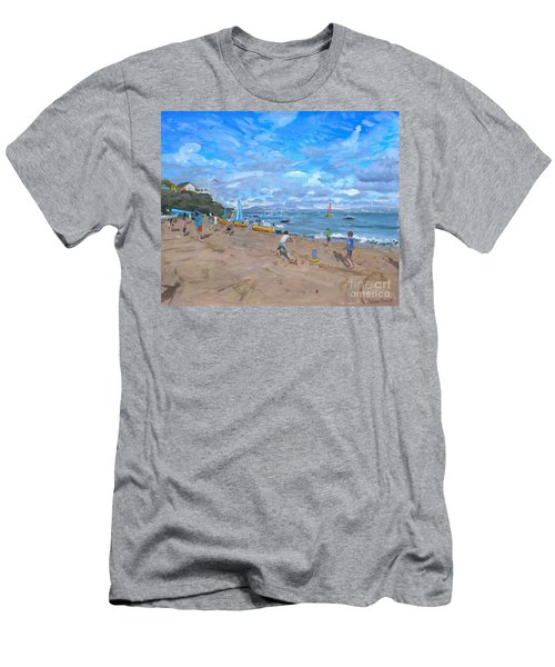 Beach Cricket Men's T-Shirt (Athletic Fit)