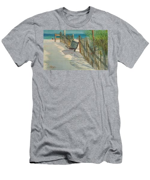Beach Patterns Men's T-Shirt (Athletic Fit)