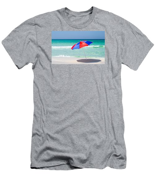 Beach Umbrella Men's T-Shirt (Slim Fit) by Shelby  Young