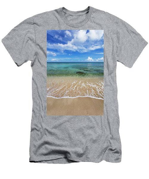 Beautiful And Calm Cane Bay  St. Croix Men's T-Shirt (Athletic Fit)