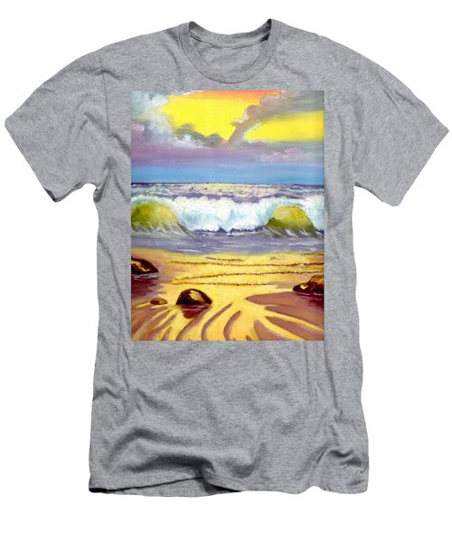 Beautiful Beach Men's T-Shirt (Athletic Fit)