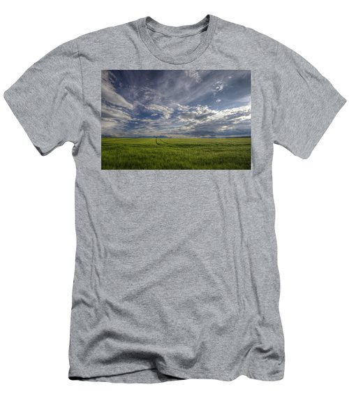 Beautiful Countryside Men's T-Shirt (Athletic Fit)