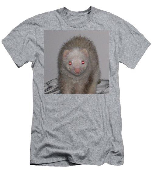 Men's T-Shirt (Slim Fit) featuring the photograph Beautiful Panda Ferret by Belinda Lee