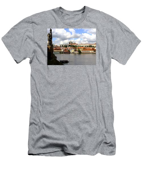 Men's T-Shirt (Slim Fit) featuring the photograph Beautiful Prague by Ira Shander