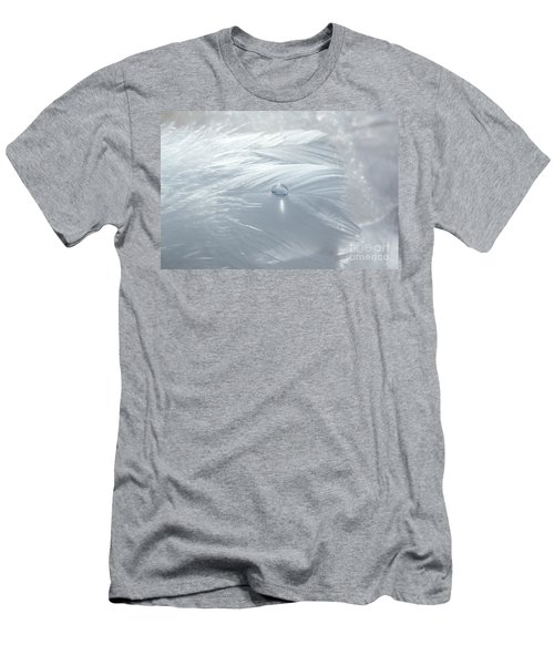 Beauty Of White Men's T-Shirt (Athletic Fit)