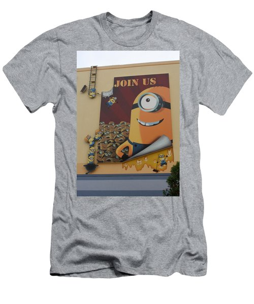 Become A Minion Men's T-Shirt (Athletic Fit)