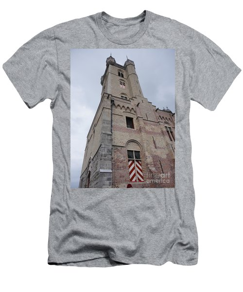Belfry In Sluis Holland Men's T-Shirt (Slim Fit)