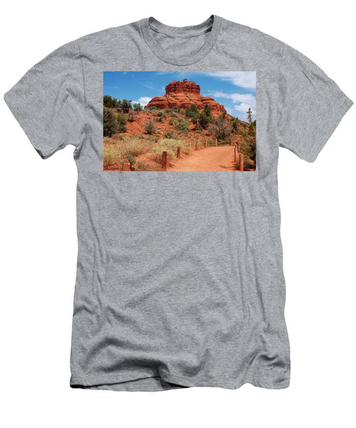 Bell Rock - Sedona Men's T-Shirt (Athletic Fit)
