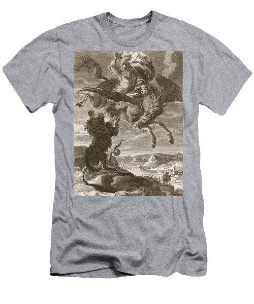 Bellerophon Fights The Chimaera, 1731 Men's T-Shirt (Athletic Fit)