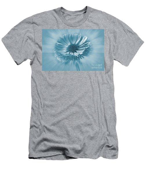 Bellis Cyanotype Men's T-Shirt (Athletic Fit)