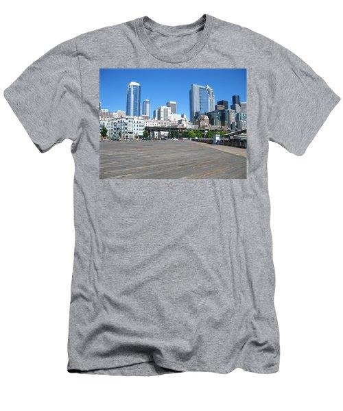 Below The Line Men's T-Shirt (Athletic Fit)