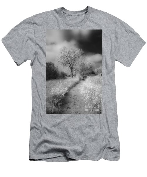 Between Black And White-23 Men's T-Shirt (Athletic Fit)