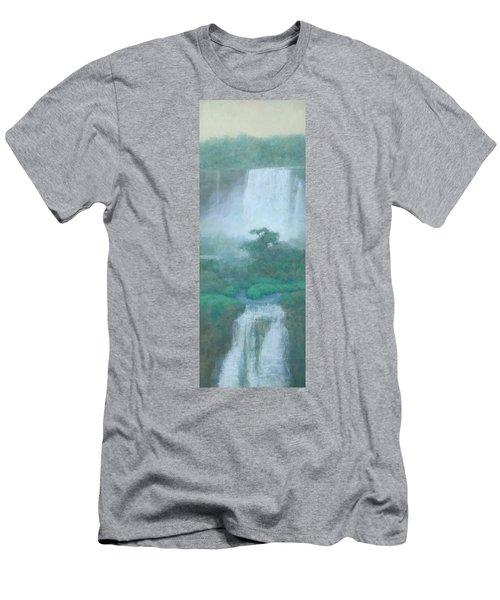 Between Falls Men's T-Shirt (Athletic Fit)
