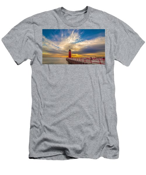 Beyond The Pier Men's T-Shirt (Athletic Fit)
