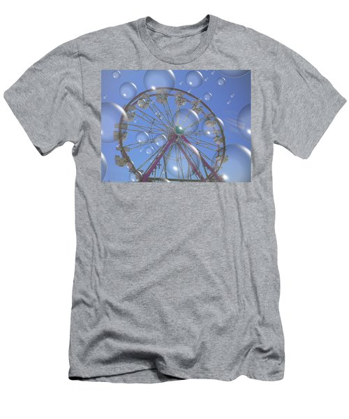 Big B Bubble Ferris Wheel Men's T-Shirt (Athletic Fit)