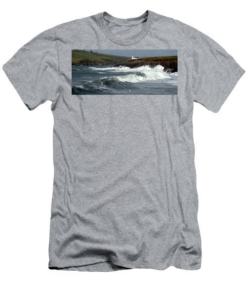 Big Swell In Dingle Bay Men's T-Shirt (Athletic Fit)