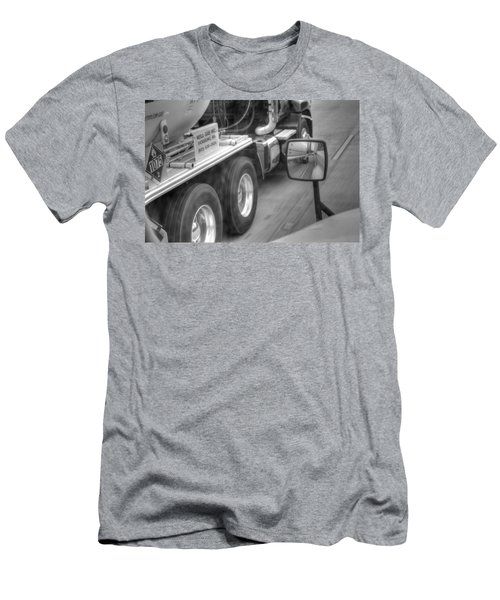 Big Wheels Keep Turning  Men's T-Shirt (Athletic Fit)