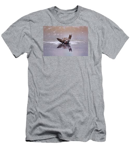 Bird Bath Men's T-Shirt (Athletic Fit)