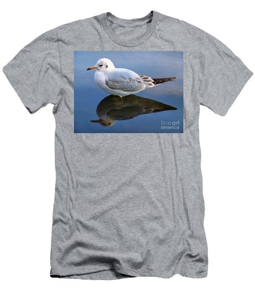 Bird Reflections Men's T-Shirt (Athletic Fit)