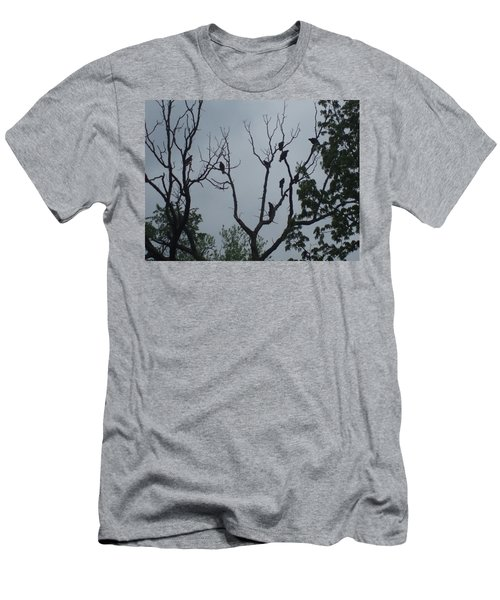 Men's T-Shirt (Slim Fit) featuring the photograph Birds by Fortunate Findings Shirley Dickerson