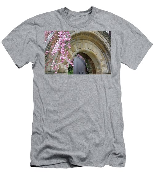 Men's T-Shirt (Slim Fit) featuring the photograph Bishop's Gate by John S