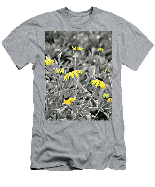 Black-eyed Susan Field Men's T-Shirt (Athletic Fit)