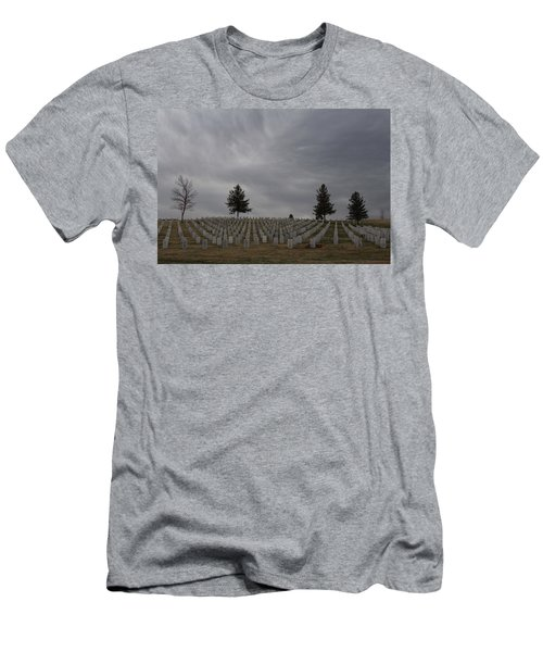 Black Hills Cemetery Men's T-Shirt (Athletic Fit)