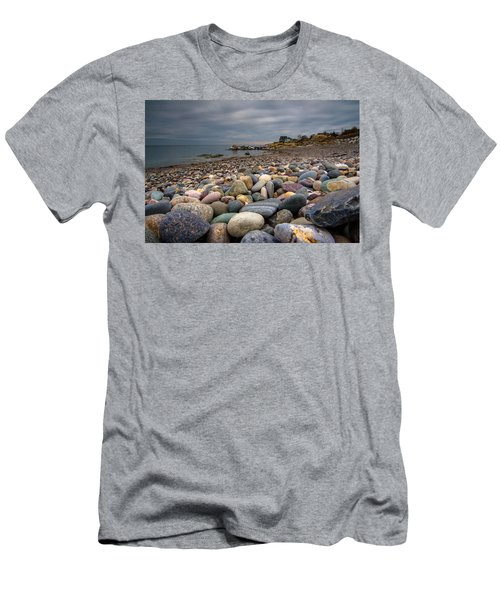 Black Rock Beach Men's T-Shirt (Athletic Fit)